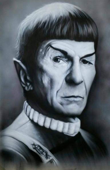 Spock - Steven Portelli @rawcustomart