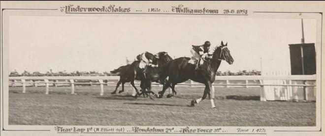 Phar Lap Historic photo.JPG